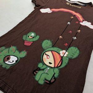 tokidoki Cactus Girl Swing Tee - S